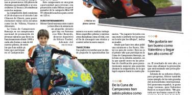 Héctor Garzó, promesa del motociclismo.