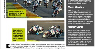 2013 Copa Honda CBR 250R Victoria en Cheste