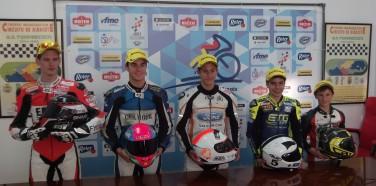 Primera Carrera CEV 2015, Primer Podio