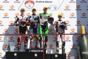 Podio Race 2 FIm Albacete 2019